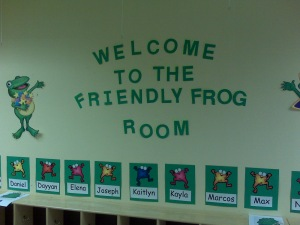 The Friendly Frogs