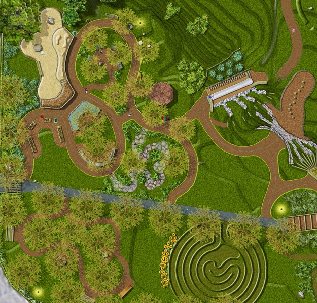 Redesign of Upper Lot Play Area