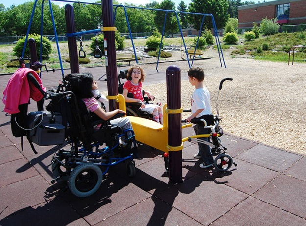 Wheelchair Appropriate Play Surface
