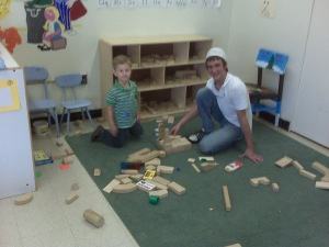 Two Future Architects/Builders