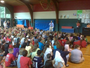 Principal Lyons Address Students