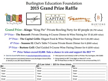 BEF Grand Prize Raffle